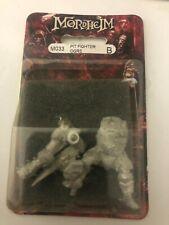 Warhammer Mordheim Ogre Pit Fighter BRAND NEW SEALED metal OOP RARE!!