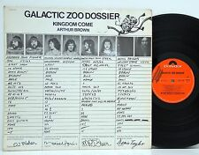 Galactic Zoo dossier Kingdom come POLYDOR 2310 130 NM # R