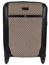 "New Gucci 293909 Beige Supreme Canvas Diamante 22"" Trolley Suitcase Luggage Bag"