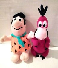 The Flintstones Fred and Dino Plush Doll Stuffed Animal Toy Play by Play