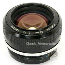 NIKKOR 55mm 1:1.2 the FASTEST NIKON PRE-Ai Analog + some DIGITAL fit PRIME Lens