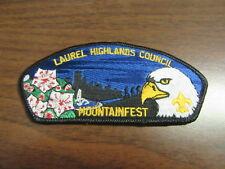 Laurel Highlands Council sa15 Mountainfest CSP  PkL