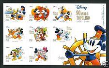 Italia Repubblica 2017 : Disney / 90 anni di Topolino  ( Cavazzano )- foglietto