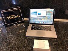 """Apple MacBook Pro 6,2 15"""" Intel Core i5 2.4GHz 90GB HDD 8GB RAM (Mid-2010)"""