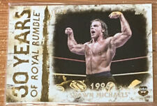 2018 Topps WWE Undisputed Shawn Michaels Gold Parallel Card #'d 10/10!!