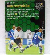 FOOTBALL CHAMPIONS Italiano 2003-04 - INARRESTABILE - azione A54 BAGGIO-VIERI