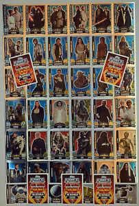 Force Attax Movie Card Serie 3 Force Meister aussuchen Topps Star Wars Karten