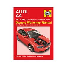 buy audi car manuals and literature ebay rh ebay co uk Audi A4 B10 Audi A4 B6