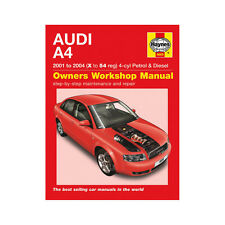 Audi A4 Haynes Manual 2001-04 1.8T 2.0 Petrol 1.9 Turbo Diesel Workshop Manual