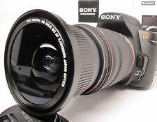 Ultra Wide Angle Macro Fisheye lens for Sony Alpha A7 A77 A65 A58 18-135 16-105