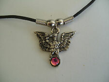 """EAGLE NECKLACE / PENDANT WITH 18"""" BLACK CORD"""
