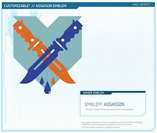 Halo 4 Assassin Emblem - Exclusive DLC Skin Pre-Order Code - Microsoft Xbox 360