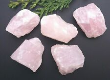 1 x Rose Quartz Raw Natural Crystal Mineral Specimen 40-50mm