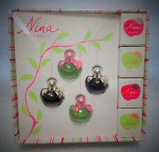 RARE coffret de miniatures @ NINA RICCI @ de N.RICCI  NEUF S:/BLISTER