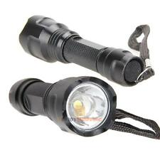 2000 Lumen Mini LED Flashlight Torch Lamp Lantern Light AAA Zoomable New