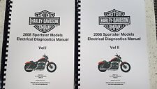 HARLEY DAVIDSON 2008 SPORTSTER MODEL ELECTRICAL DIAGNOSTIC MANUAL REPRINTED A4