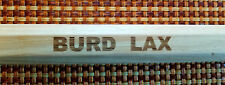 Lacrosse Attack Shaft, BURD WOOD WORKS,  Hickory, ONE YEAR REPLACEMENT WARRANTY