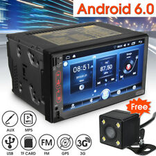 7 Inch WIFI Android 6.0 Car MP5 Player GPS Bluetooth 2DIN Radio Stereo Rear Cam