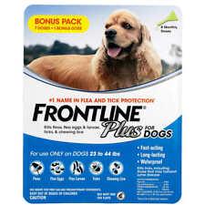 Frontline Plus Flea and Tick Dog Treatment 23-44 lb, 5 Doses #11 (1151)