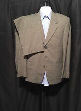 Lanificio Fee Cerruti Men's Three Button Gray Suit 42R 32W X 30L Made In Italy