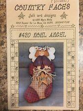 """Wood craft Pattern """" Noel Angel"""""""