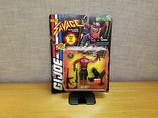 Hasbro GI Joe Sgt. Savage Jet Pack General Blitz action figure, Brand New!