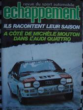 revue ECHAPPEMENT 1981 SUNBEAM LOTUS & Ti TRT / RALLYE BANDAMA / POLO GT