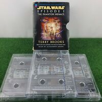 Star Wars Episode 1 The Phantom Menace Audio Book Cassette Tapes Terry Brooks
