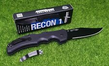 """Cold Steel Recon 1, Clip Point, Plain Edge 4"""" Blade, CPM S35VN Steel - 27BC"""