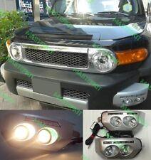 For Toyota FJ Cruiser 2007 - 2014 Daytime Running Front Fog Lights LH & RH Set