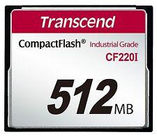 512MB Transcend Industrial Temperature Range CF220I 220X Ultra CompactFlash SLC