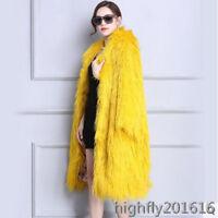 Damenmode Jacke Mäntel Mongolisch Tibet Schafpelz Pelzjacke Outwear Parka Geld