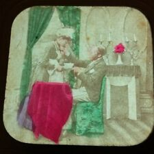 1860s Stereoview French Tissue lovers sex maid occupational sexual harrasement
