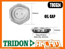 TRIDON TOC524 - OIL CAP - METAL BAYONET - COVER ORIFICE ENGINE OIL SUPPLY