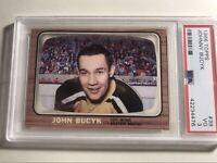 1966 Topps Johnny Bucyk PSA 3 Boston Bruins HOF