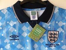 RARE Retro England 3rd Football Shirt 1990 World cup Italia 90 XL / Ex Large
