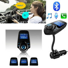 T10 Wireless Bluetooth3.0 Car MP3 FM Transmitter AUX USB Disk Charger Handsfree