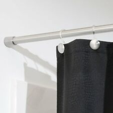NEW  InterDesign Forma Shower Curtain Tension Rod Brushed Stainless Steel 43-75