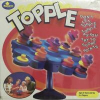 TOPPLE Board Game Pressman Games  2004 Edition