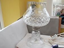 BOXED THOMAS WEBB CRYSTAL KNIGHTSBRIDGE ELECTRIC LAMP FROM GOLDEN AGE COLLECTION