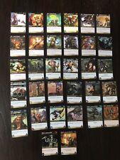 Lot 34 Cartes World Of Warcraft (WOW) Azeroth , x/361 TBE
