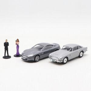 1/36 CORGI ASTON MARTIN DB5 & DBS WITH 007 JAMES BOND & VESPER FIGURES CAR MODEL