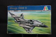 XY164 ITALERI 1/72 maquette avion 023 Mirage 2000 D frappe aérienne française