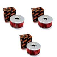 Volar Oil Filter - (3 pieces) for 1990-2000 Suzuki DR350