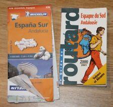 guide routard espagne du sud andalousie + carte michelin 578 seville valence ...