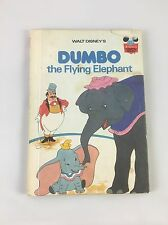 Vintage Walt Disney's Dumbo the Flying Elephant Hardcover Book 1978