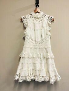 Luxuriöses Kleid von ZIMMERMANN - 1 / S ~ white lace dress ~ 990€