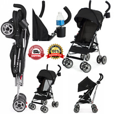Travel Convenience Baby Stroller Foldable Toddler Chair Lightweight W/ Umbrella