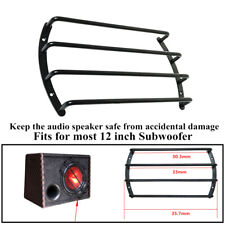 """12""""Car Audio Speaker Adapter Subwoofer Grille Cover Protection Decorative Style"""