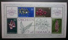 Decimal, Jamaica, Caribbean, Orchids of Jamaica, MUH,#1322